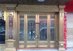 铜门安装也是技术活