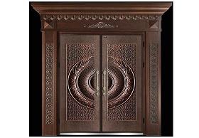 意式铸铝门