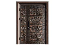 铸铝别墅大门